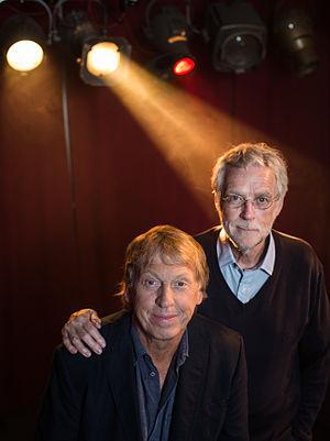 Bo Hermansson - Bo Hermansson (right) and Tomas von Brömssen