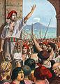 Tomasso Aniello, known as Masaniello, was the leading spirit of revolt in Naples, 1647..jpg