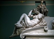 Tomb of Giuliano de' Medici (casting in Pushkin museum) by shakko 03.jpg