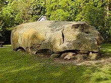 Große Steine aus