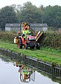Towpath maintenance at Tixall, Staffordshire - geograph.org.uk - 1558406.jpg