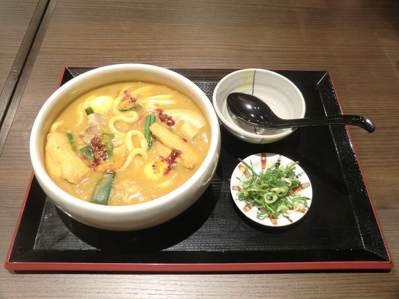 Toyohashi Curry Udon, at Mikawa no Sato 1.jpg