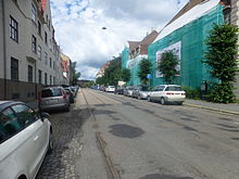 Tracks from Sagene ring in Bentsebrugata 02.JPG