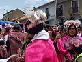 Traditional dancers and costumes during the Pulljay festivities in Tarabuco.jpg