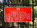 Trafalgar Cemetery sign 3.JPG