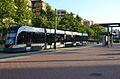 Tramvia a l'estació d'Alfauir, València.JPG