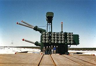 HVDC converter station - A single-phase, three-winding converter transformer.