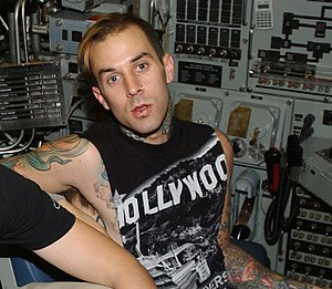Enema of the State - Enema of the State is the first Blink-182 album with drummer Travis Barker (pictured).