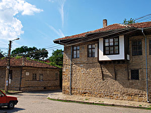 Treaty of Sistova - The treaty was signed in the little house to the left in modern Svishtov, Bulgaria