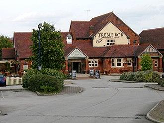 A616 road - Treble Bob at Barlborough