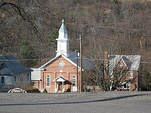 Zerbe Township, Northumberland County, Pennsylvania - Trevorton in Zerbe Township