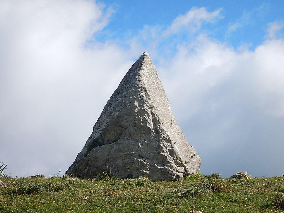 Triangle megalith, Fondachelli Fantina Sicily,