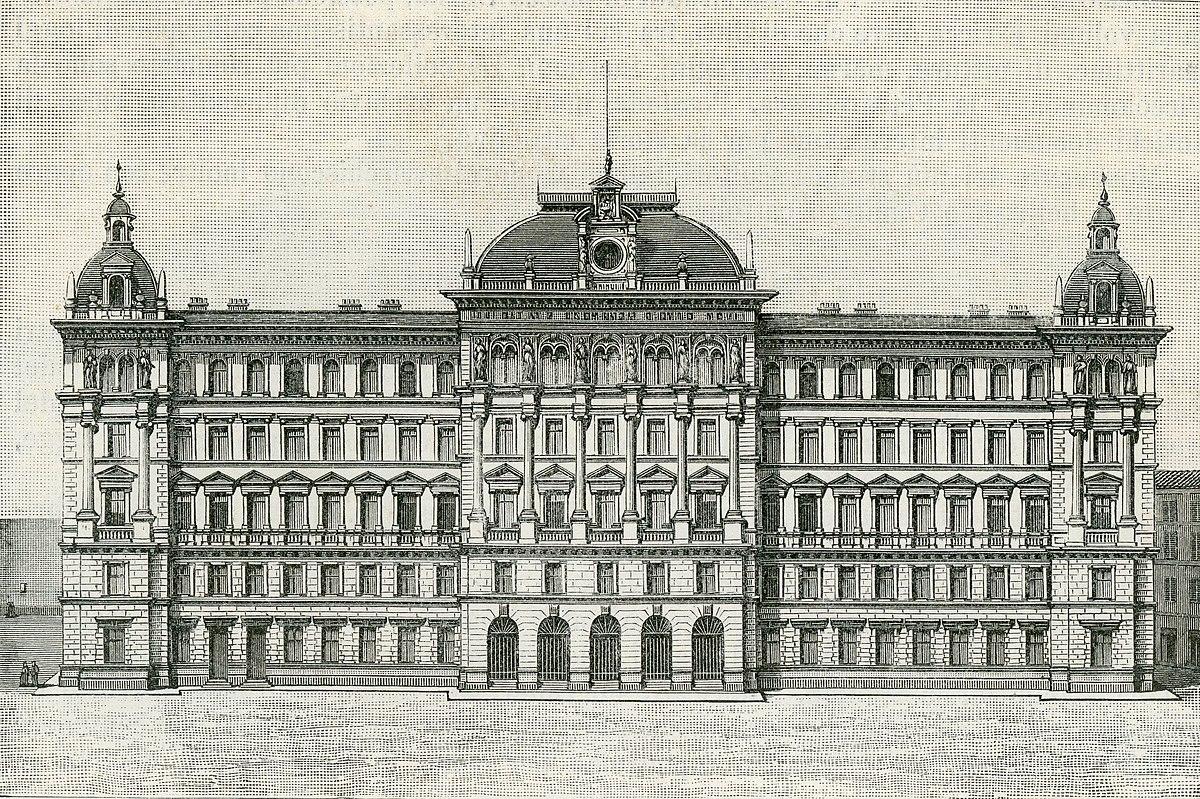 Palazzo Delle Poste  Trieste