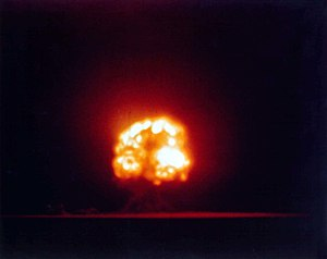 1945 in science - Trinity nuclear test