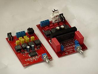 Class-T amplifier - Image: Tripath amplifier modules