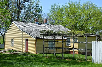 Decatur Township, Macon County, Illinois - The Trobaugh-Good House at Rock Springs Conservation Area