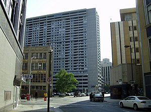 Detroit City Apartments - Image: Trolley Plaza Detroit