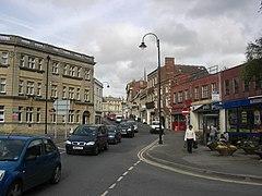 Trowbridge town center