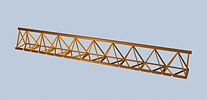 Launching gantry - truss girder
