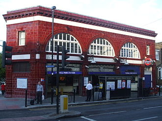 Tufnell Park tube station - Image: Tufnell Park stn building