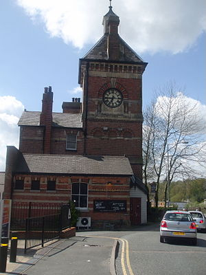 Tunbridge Wells West railway station - Station clocktower