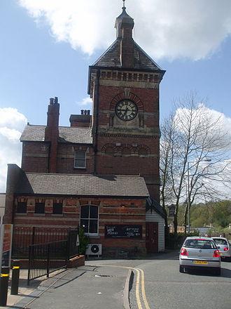 Tunbridge Wells West railway station - Station clocktower