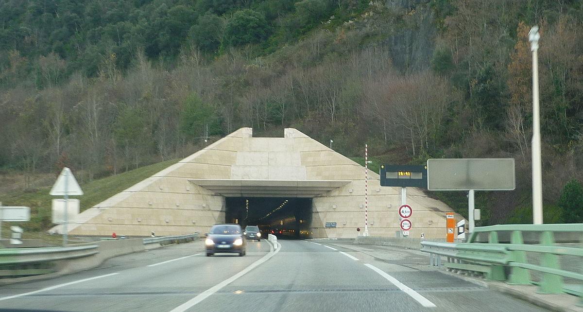 Tunnel de foix wikip dia for Construction de tunnel