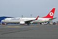 Turkish Airlines, TC-JHF, Boeing 737-8F2 (16268670158).jpg