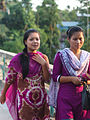 Two Chakma girls at Rajban Bihar.jpg