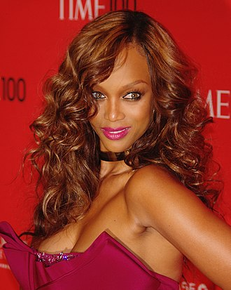 Tyra Banks - Banks at the 2012 Time 100 gala