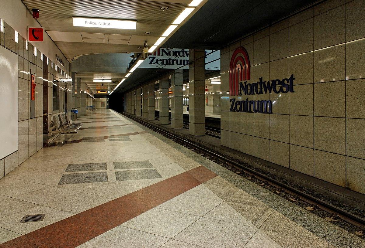 U-Bahnhof Nordwestzentrum – Wikipedia