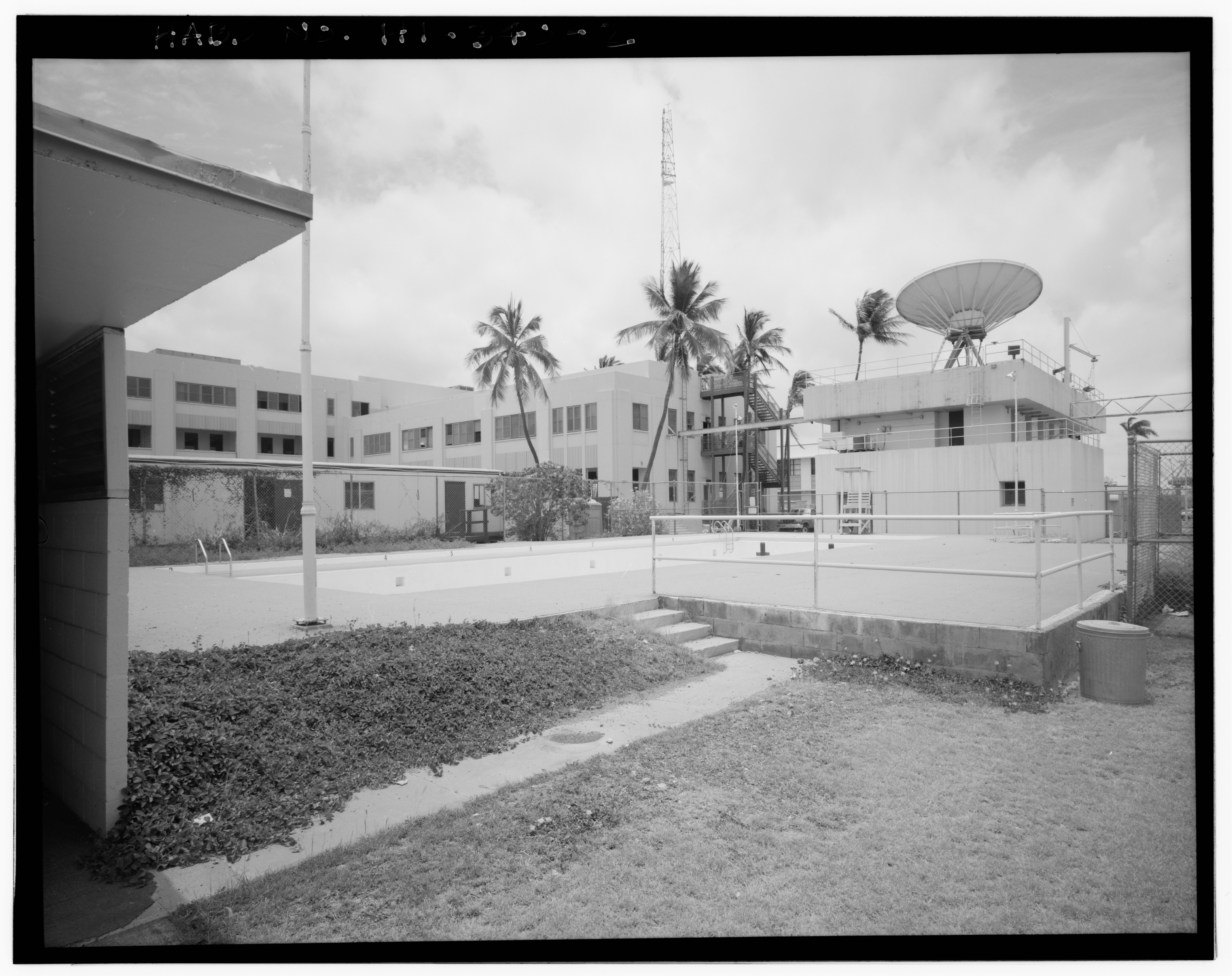 File U S Naval Base Pearl Harbor Outdoor Swimming Pool Corner Of Liscome Bay Street And St