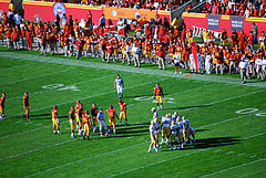 The Football Portion Of Gauntlet Ucla Vs Usc