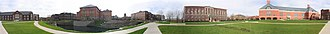 UIUC College of Engineering - Panorama of the Bardeen Quad