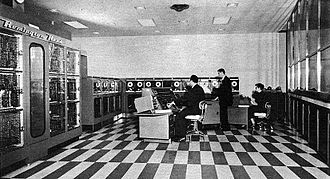 UNIVAC I - UNIVAC I at Franklin Life Insurance Company