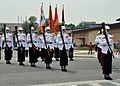 USAF photo 120519-F-HA794-035 The Republic of Korea Marine Drill Team performs in front of the grand stand during the 2012 Armed Forces Day parade at Osan Air Base.JPG