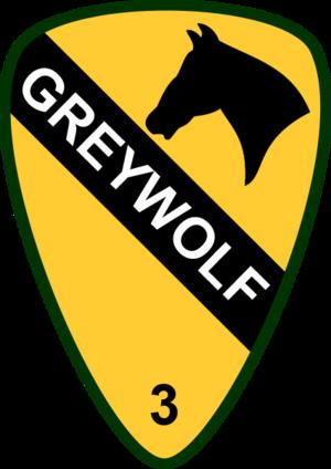 3rd Brigade Combat Team, 1st Cavalry Division (United States) - 3rd Brigade logo