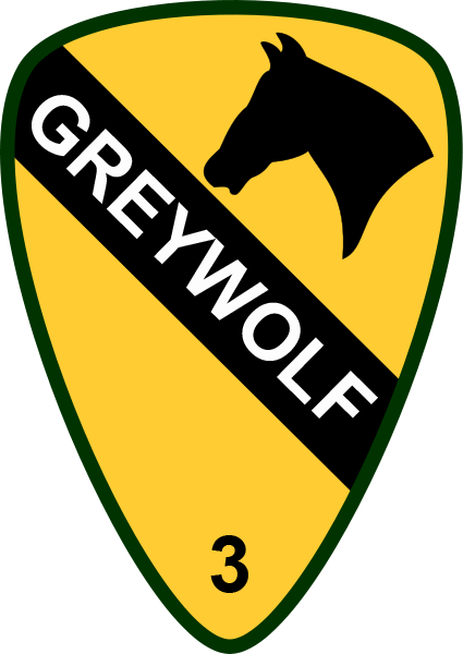 USA - 1st Cavalry 3rd Brigade