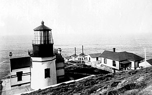 Point Conception Light - Point Conception Light by U.S. Coast Guard Archive