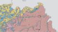 USGS geologic map Siguiri.png