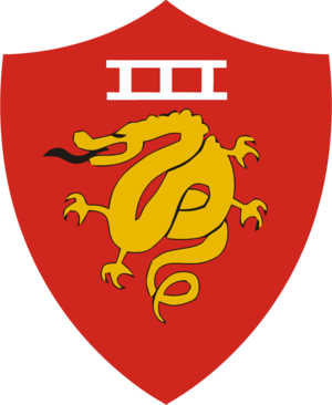III Marine Expeditionary Force - III Amphibious Corps insignia