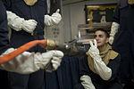 USS Carl Vinson general quarters drill 141205-N-TR763-106.jpg