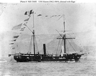 USS <i>Huron</i> (1861)