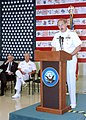 US Navy 020911-N-4868G-015 Rear Adm. Joseph Krol, Deputy Chief of Naval Operations, addresses the families and friends of Navy personnel who perished in the attack.jpg