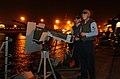 US Navy 040322-N-9885M-006 Sonar Technician 3rd Class Russell Franklin stands security watch on a 60-caliber machine gun.jpg