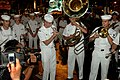 US Navy 070831-N-5174T-018 Sailors from the Pacific Fleet Dixieland Band perform during a parade in Kuala Lumpur to promote the city's upcoming International Tattoo 2007.jpg
