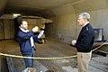 US Navy 080131-N-7676W-013 Railgun test slug shown to Chief of Naval Operations, Adm. Gary Roughead.jpg