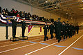 US Navy 081205-N-9876C-007 Capt. Jake Washington serves as reviewing officer during a pass-in-review by Navy Junior Reserve Officer Training Corps cadets at Proviso West High School.jpg