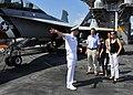 US Navy 101008-N-2937R-036 Lt. Cmdr. William Marks, public affairs officer aboard the aircraft carrier USS Abraham Lincoln (CVN 72),.jpg