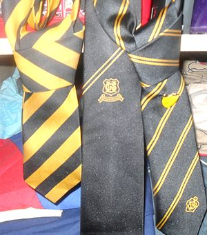 English: All Of The Ties Worn Uddingston Gramm...